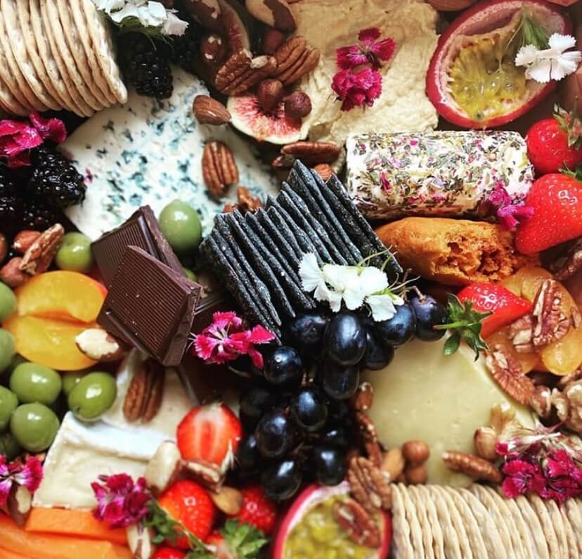 Fruit, Chocolate & Cheese