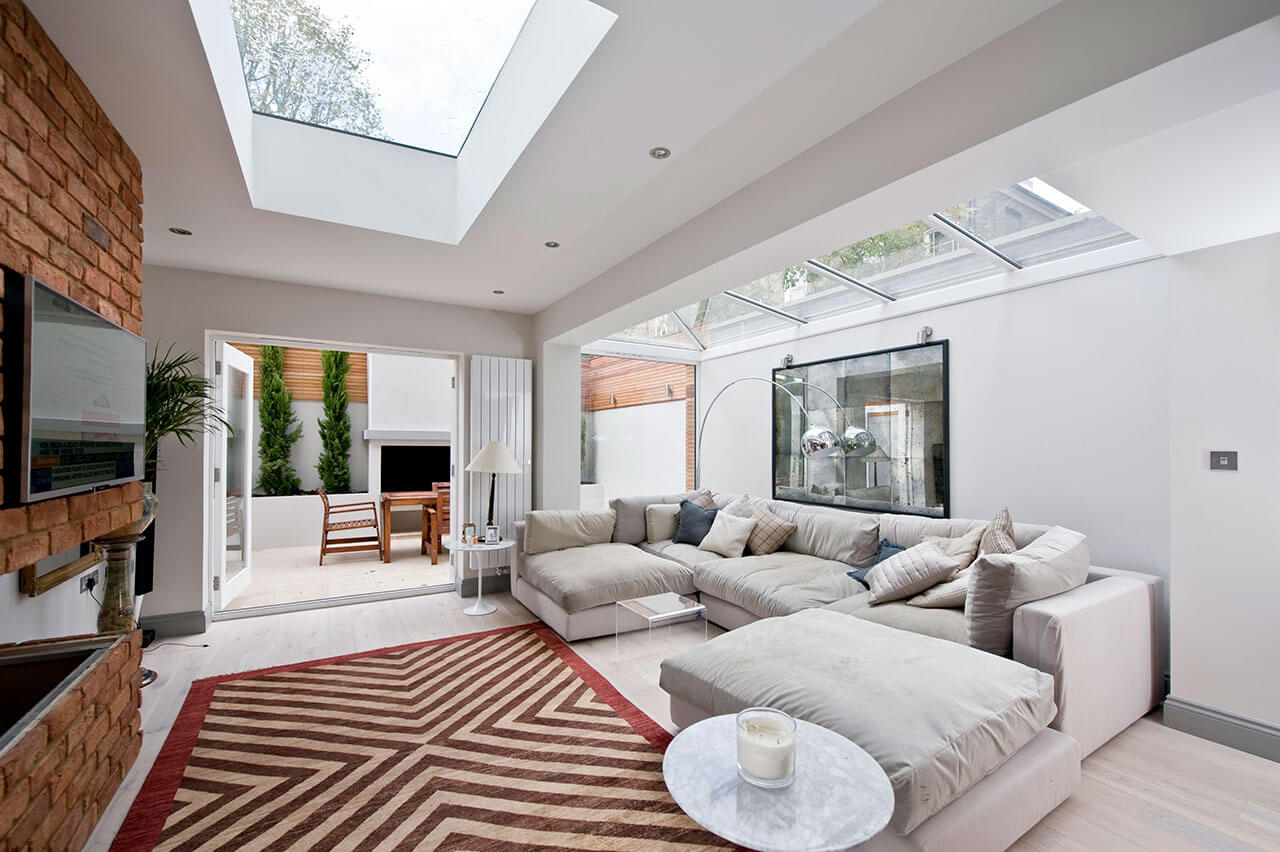 Modern Open Plan Living Room