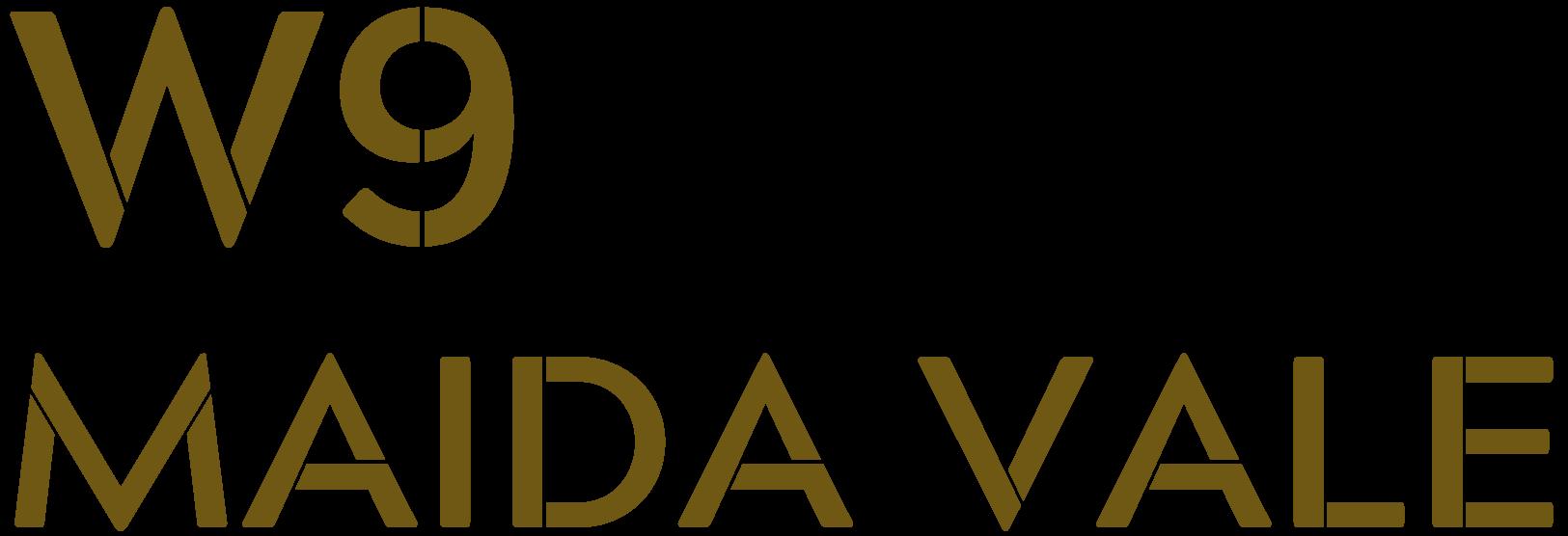 W9 Maida Vale Logo in Gold